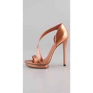 Beautiful Bronze B By Brian Atwood Sandals